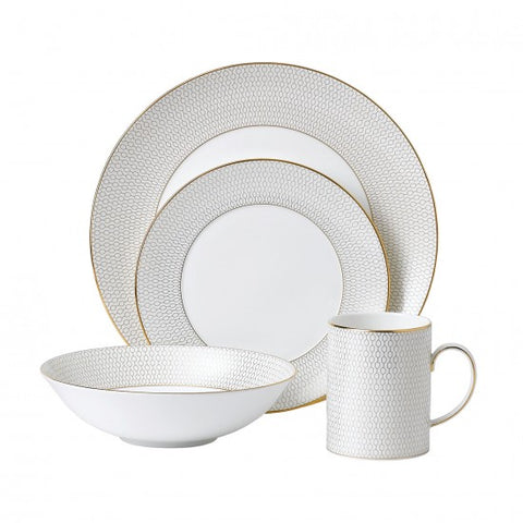 Wedgwood Arris 4-Piece Place Setting Dalmazio Design