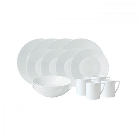 Jasper Conran White 16-Piece Set
