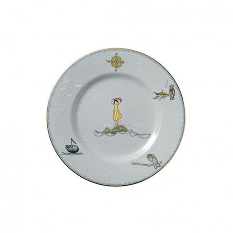 Sailor's Farewell Accent Salad Plate 9""