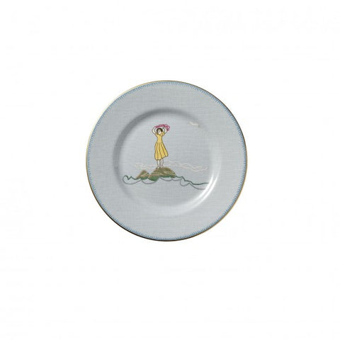 Sailor's Farewell Bread & Butter Plate 7""