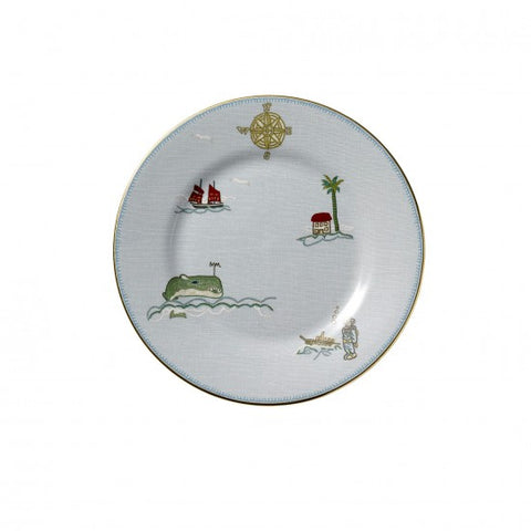 Sailor's Farewell Salad Plate 8""