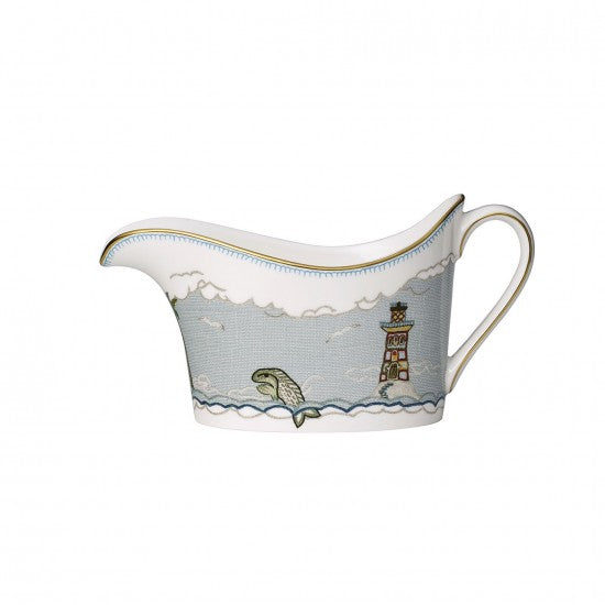 Sailor's Farewell Gravy Boat & Stand