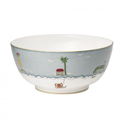 Sailor's Farewell Serving Bowl 10.2""