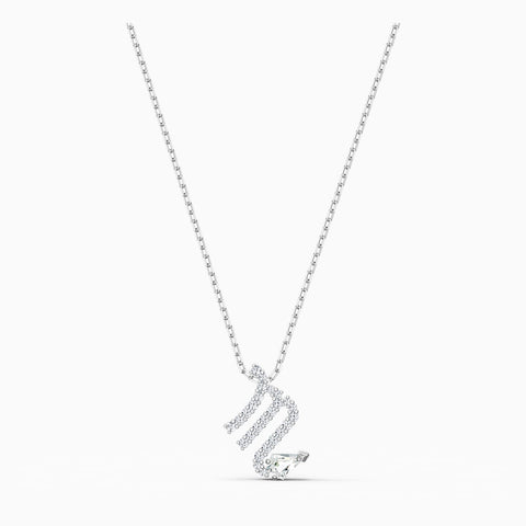 Dalmazio Design - Swarovski Zodiac Ii Pendant, Scorpio, White, Mixed Metal Finish