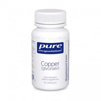 Copper (glycinate) #60 capsules