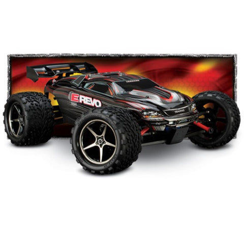 1/16 Traxxas E-Revo VXL- All Parts and Upgrades