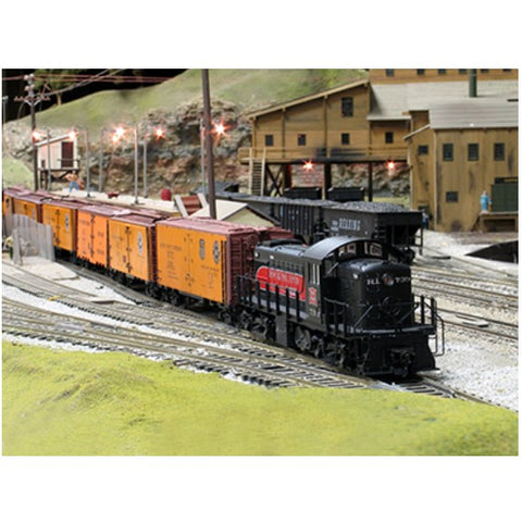 2 Rail O Scale Trains