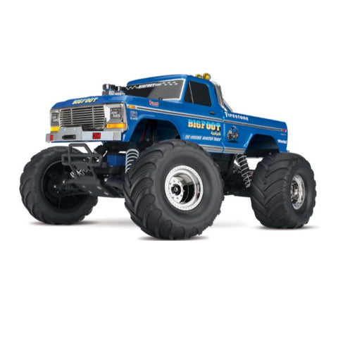 1/10 Traxxas 2wd Bigfoot No 1 - All Parts and Upgrades