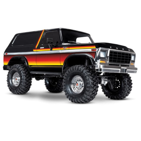 1/10 Traxxas TRX-4 Bronco - All Parts and Upgrades
