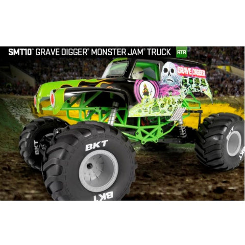 1/10 Axial SMT10 Grave Digger - parts & upgrades