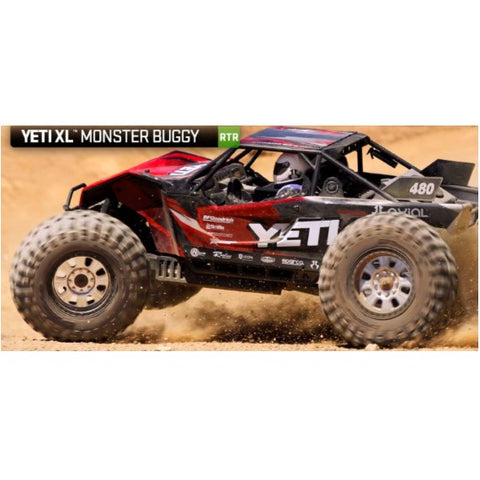 1/10 Axial Yeti XL - parts & upgrades