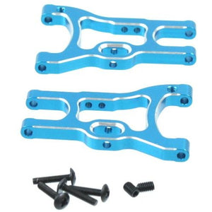 02160B Aluminum rear lower arms (2pcs)(blue)