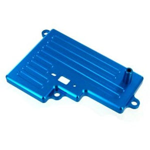166664 Aluminum Battery Box Cover, Blue