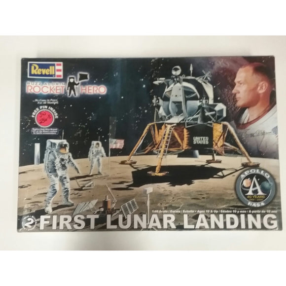 1/48th scale. Buzz Aldrin Rocket Hero- First Lunar Landing from Revell - Swasey's Hardware & Hobbies