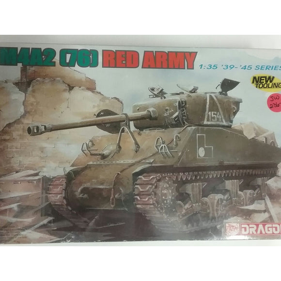 1/35th scale. M4A2 [76] Red Army 1935-1945 series from Dragon - Swasey's Hardware & Hobbies