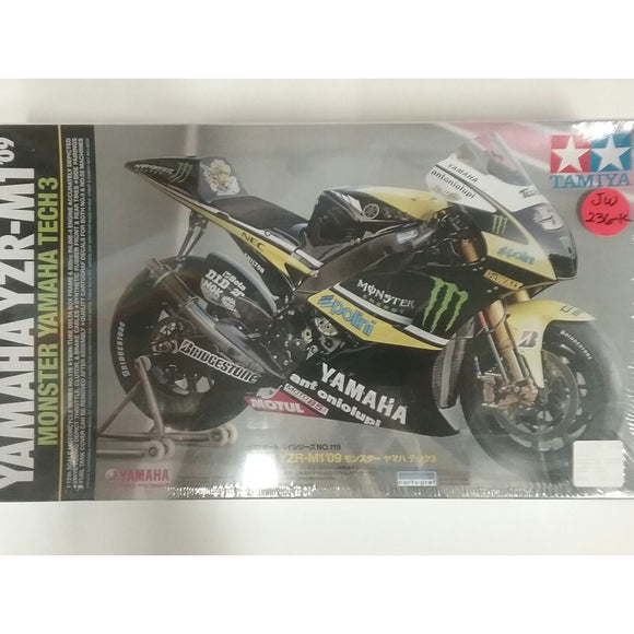 1/12th scale. Yamaha YZR-M1 '09 Monster Yamaha Tech 3 from Tamiya - Swasey's Hardware & Hobbies