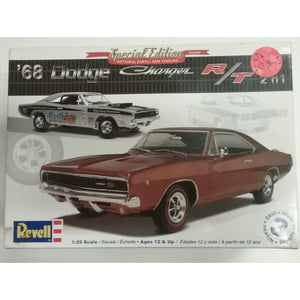 1/25th scale. 1968 Dodge Charger R/T from Revell - Swasey's Hardware & Hobbies
