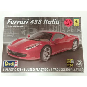 1/24th scale. Ferrari 458 Italia from Revell - Swasey's Hardware & Hobbies