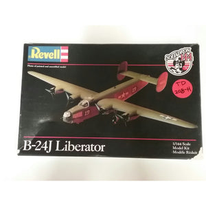 1/144th scale. B-24J  Liberator from Revell -  'Squadron 144' - Swasey's Hardware & Hobbies