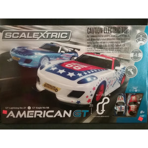 C1361 Scalextric American GT Slot Car Set - Swasey's Hardware & Hobbies