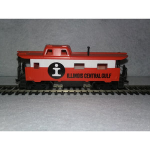 HO Scale Tyco Illinois Central Gulf Caboose - Swasey's Hardware & Hobbies