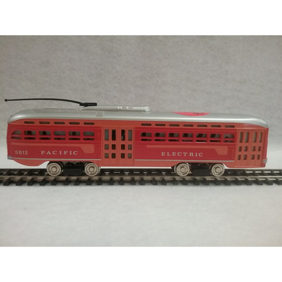 HO Scale Bachmann Pacific Electric Trolley Car