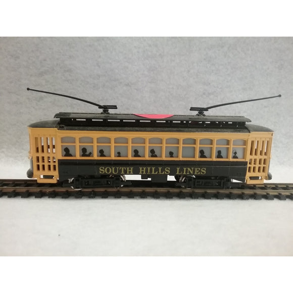 HO Scale Bachmann South Hills Lines Trolley