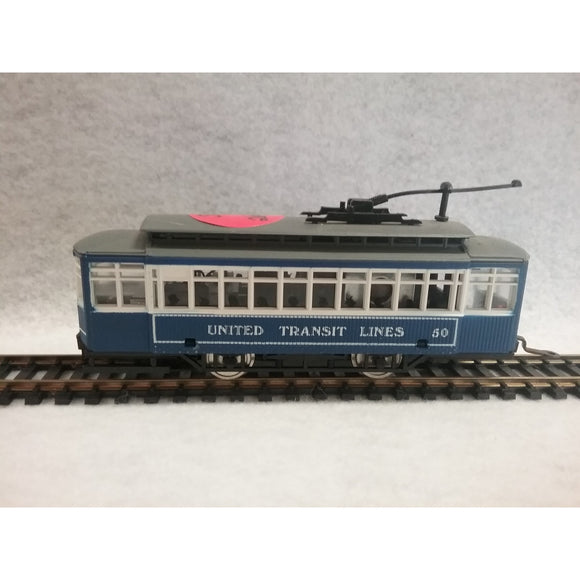 HO Scale AHM United Transit Lines Trolley