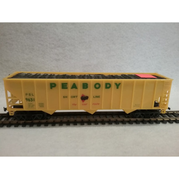 HO Scale Bachmann Peabody Hopper With Coal Load