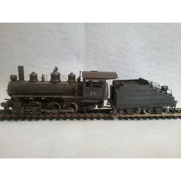 HO Scale PFM by United 0-6-0 Brass Locomotive And Tender