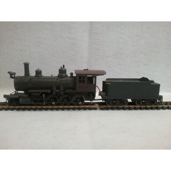 HO Scale PFM Brass 2-8-0 Consolidation Locomotive And Tender
