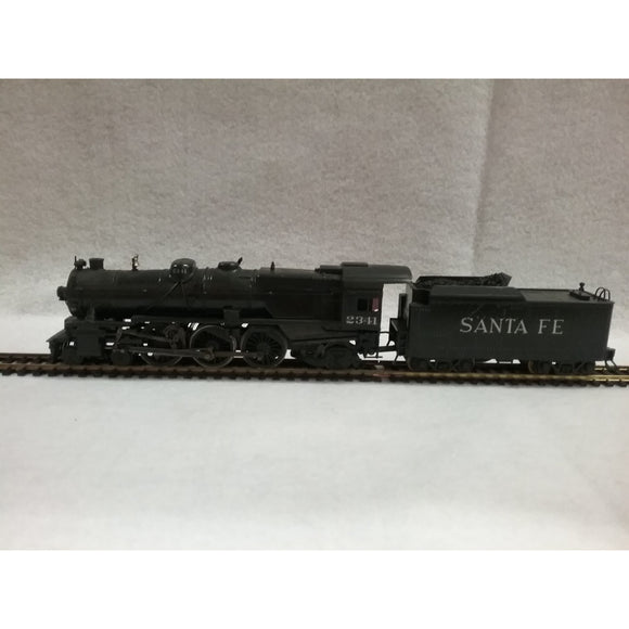 HO Scale Bowser A T S F  4-6-2 Pacific Locomotive And Tender