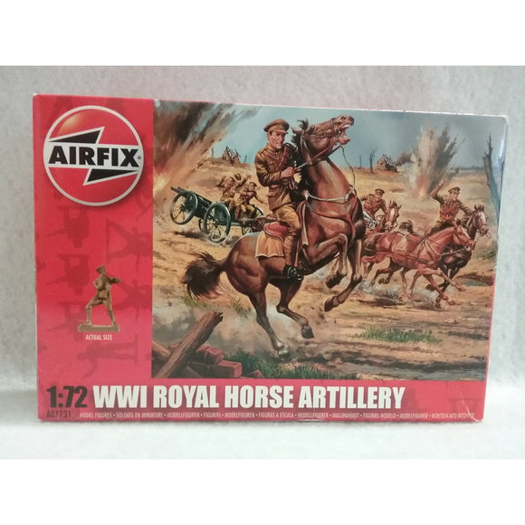 1/72 Scale Airfix A01731 WWI Royal Horse Artillery