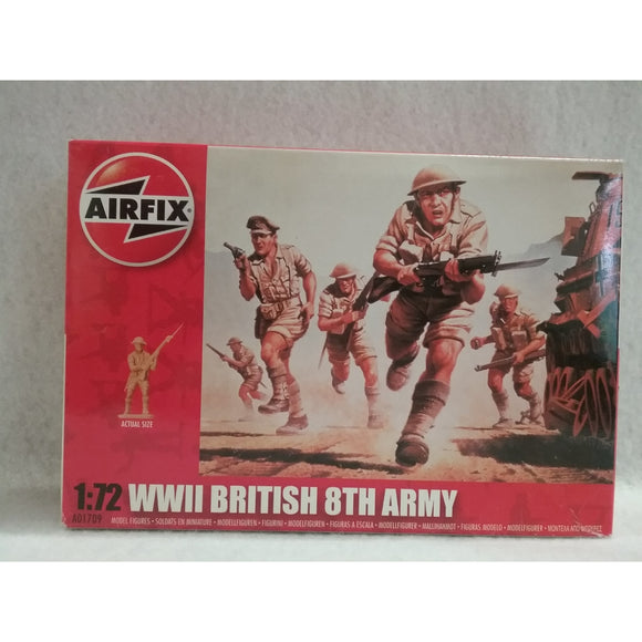 1/72 Scale Airfix A01709 WWII British 8th Army
