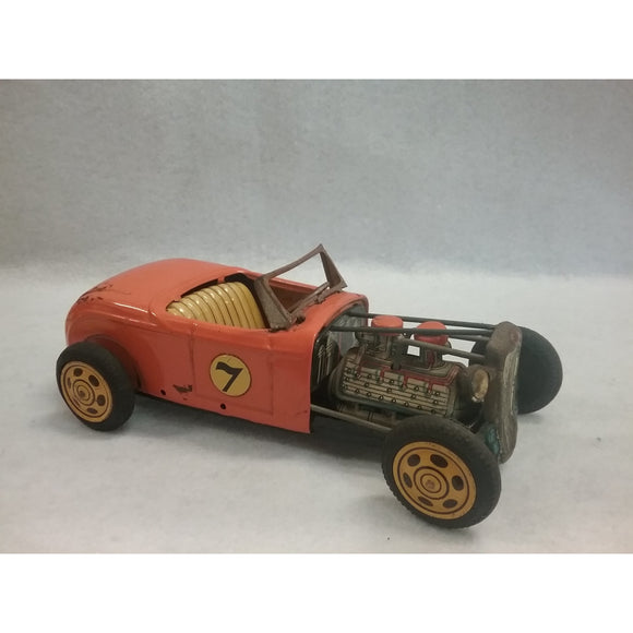 Vintage Tin Hot Rod