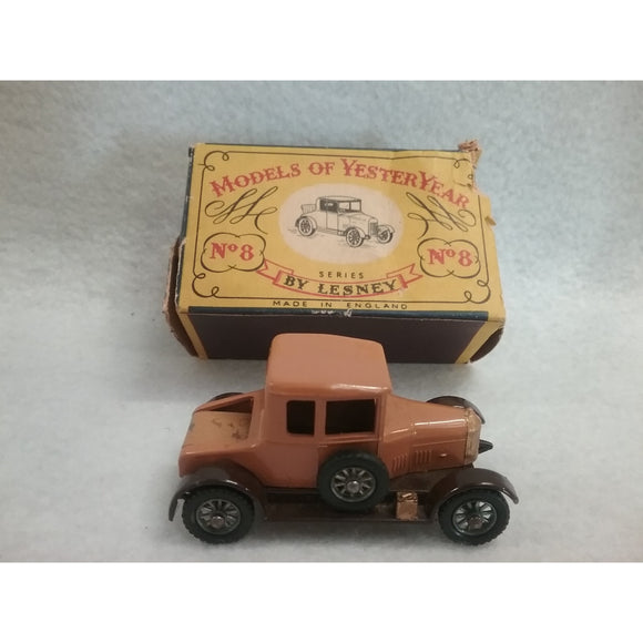 Lesney Matchbox No.8 The Bullnose Morris Cowley Of 1926