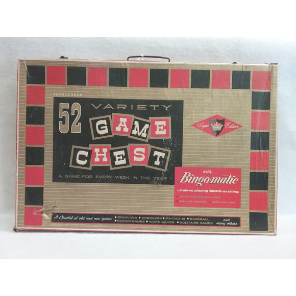 Transogram Vintage Game Chest