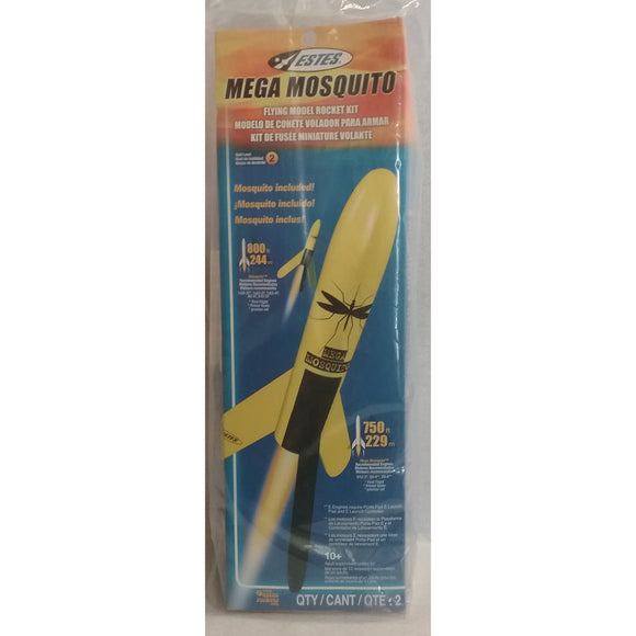 Estes Flying Model Rocket Kit Mega Mosquito