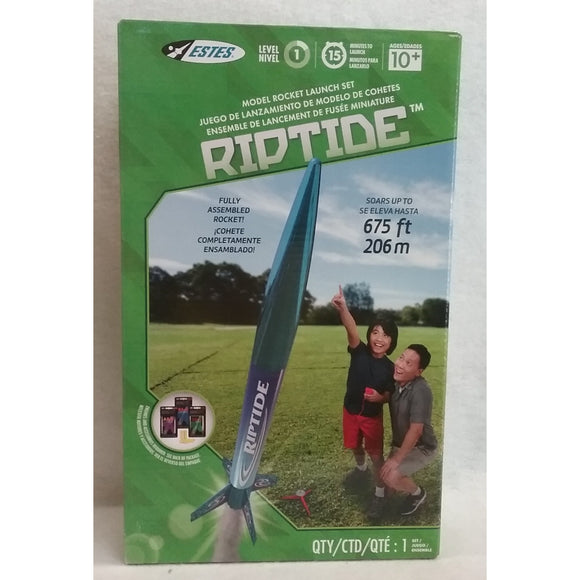 Estes Flying Model Rocket Launch Set Riptide