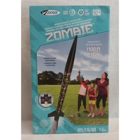 Estes Model Rocket Launch Set Zombie