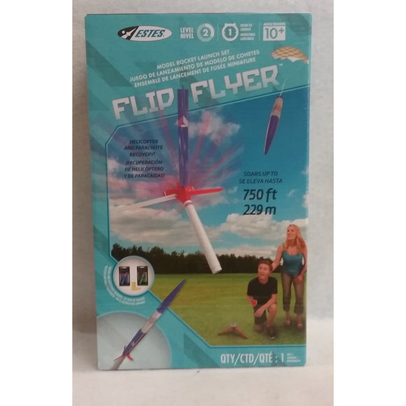 Estes Flying Model Rocket Launch Set Flip Flyer