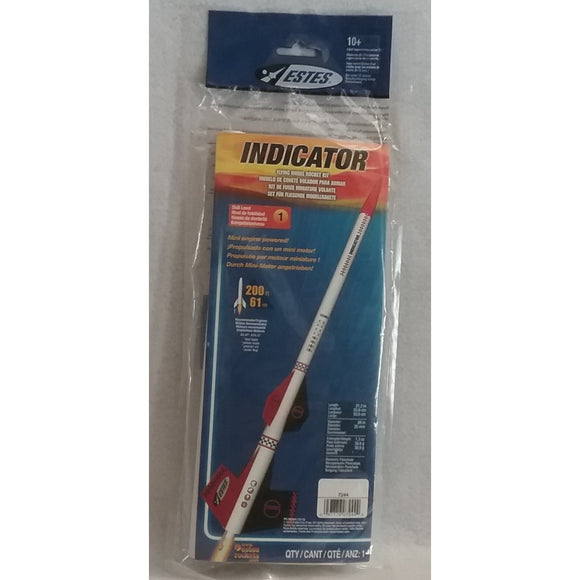Estes Flying Model Rocket Kit Indicator