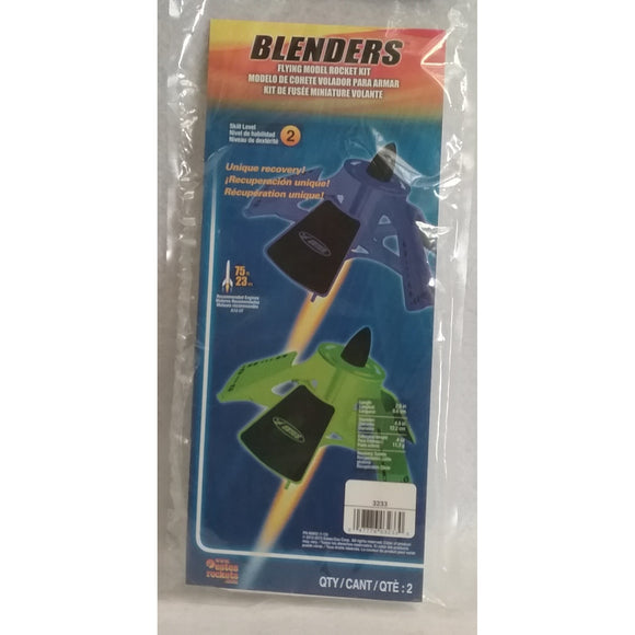 Estes Flying Model Rocket Kit Blenders