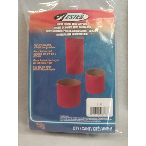 Estes Model Rocket Tube Couplers
