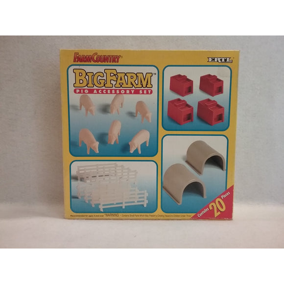 ERTL Big Farm Pig Accessory Set
