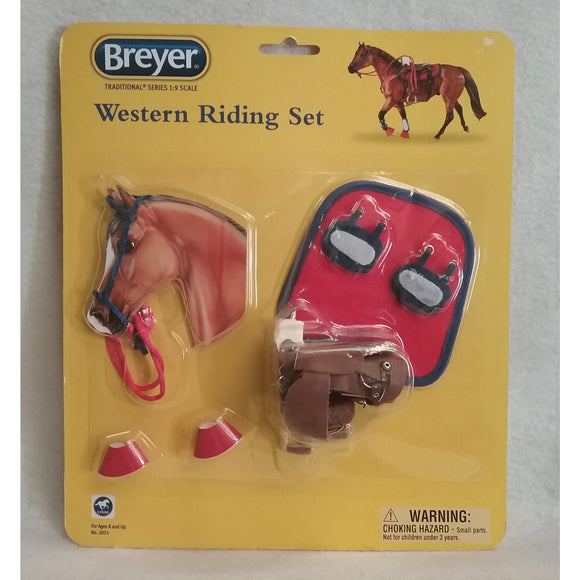 1/9 Scale Breyer 2051 Western Riding Set