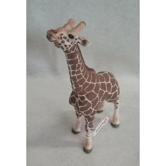 Schleich 14389 RETIRED Male Giraffe Eating