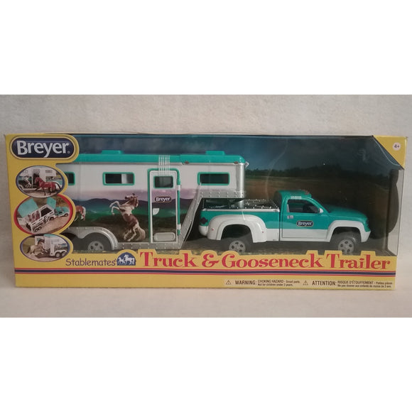 1/32 Scale Breyer No.5356  Truck & Gooseneck Trailer