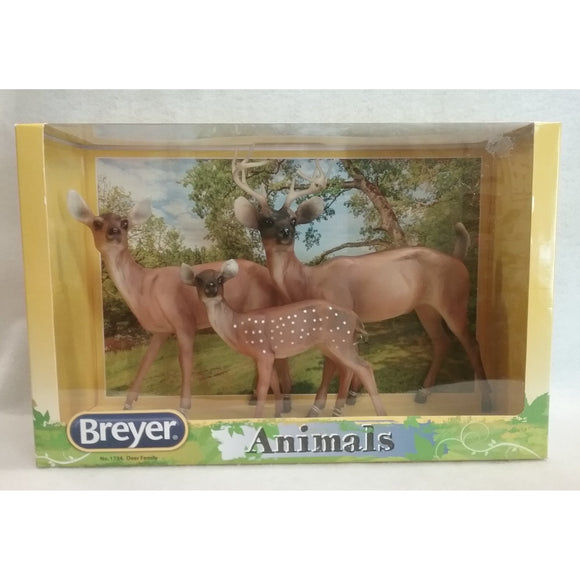 1/9 Scale Breyer 1734 RETIRED  Deer Family