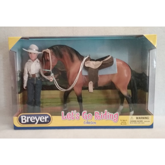 1/9 Scale Breyer No.1410  Let's Go Riding